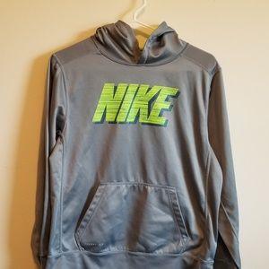 Boys size XL Nike hooded thermafit sweatshirt